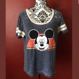 Disney Mickey Mouse Shirt L Retro Style T Shirt